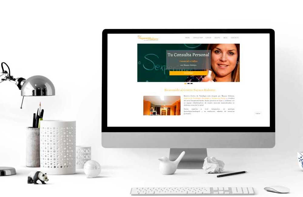 Página Web Centro Nayara Malnero