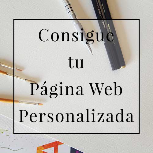 Consigue tu Página Web Personalizada