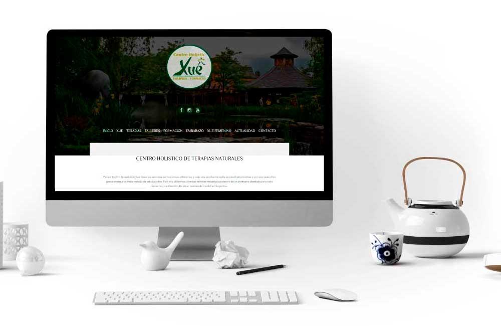 Página Web Centre Terapeutic Xue