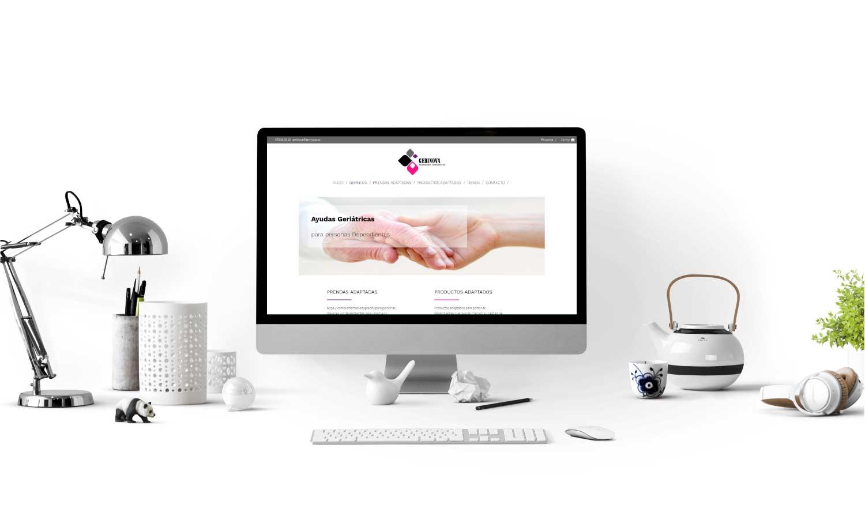 Diseño de Tienda Online Gerinova (Asturias)