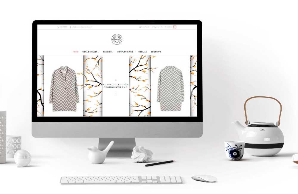Diseño de Tienda Online Innamorata