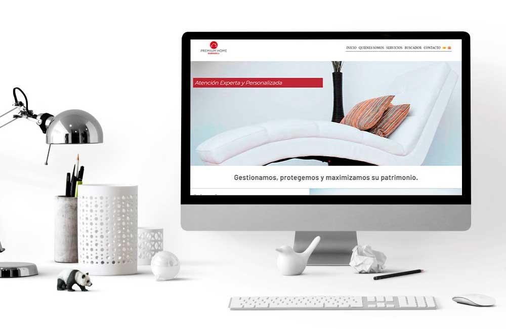 Diseño de Página Web Premium Home Sabadell