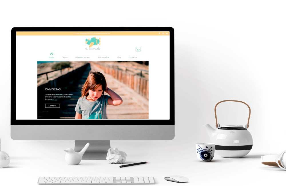 Diseño de Tienda Online el Avioncito