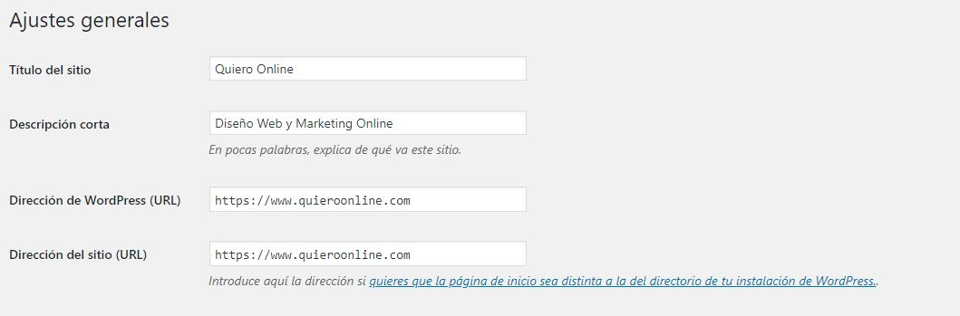 indicar a wordpress el https