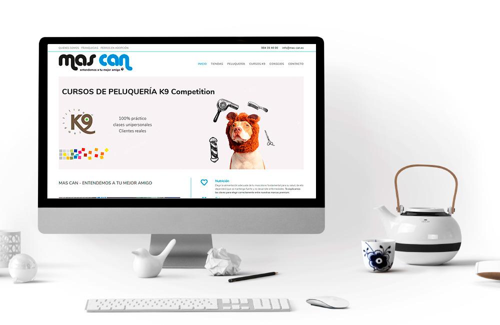 Diseño de Página web Tienda Mas Can Asturias