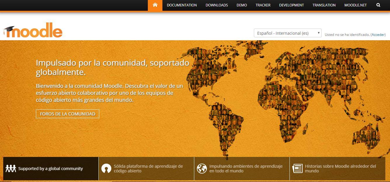 Moodle - LMS Plataforma de Formación Online
