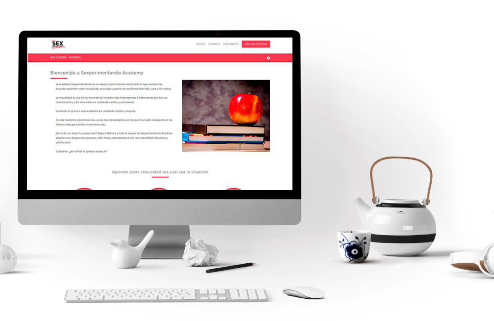 Plataforma de Formación Online Sexperimentando