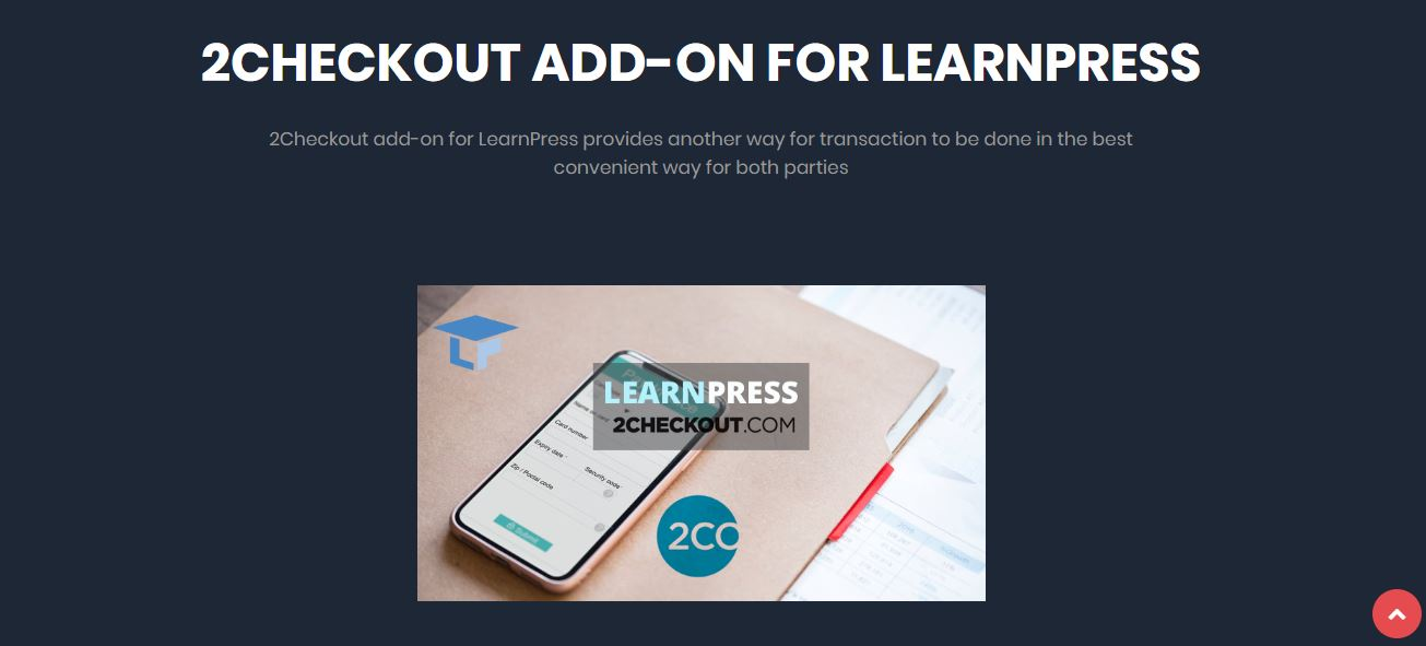 2checkout para LearnPress