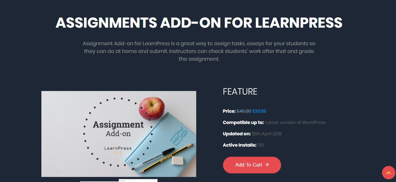 Assignments para LearnPress