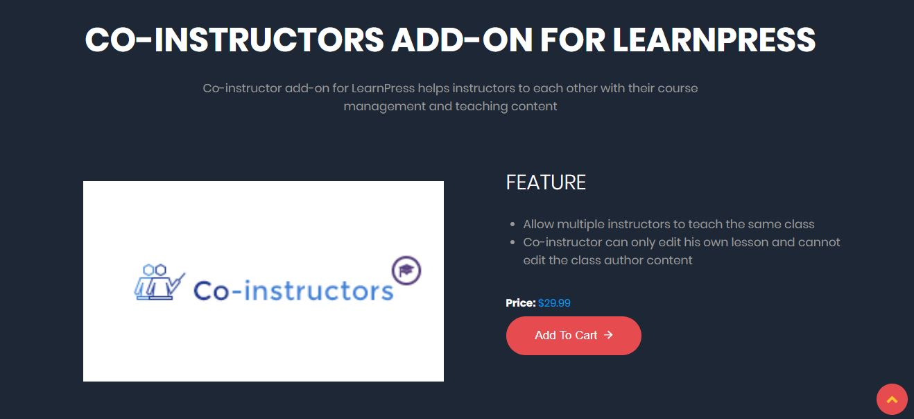 Coinstructors learnpress