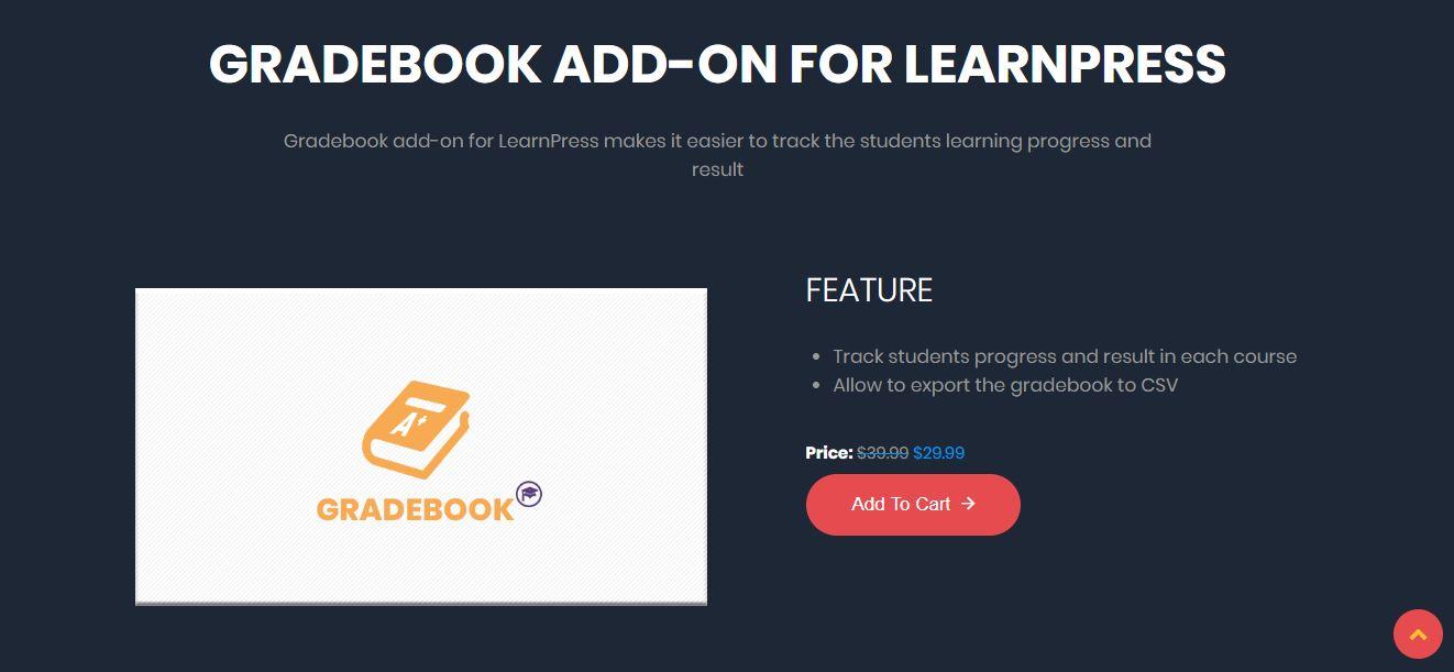 Gradebook para LearnPress