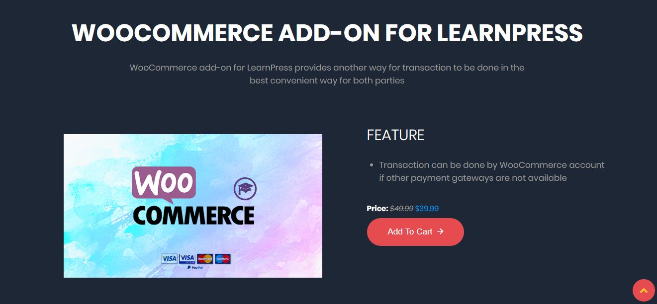 Woocommerce para LearnPress