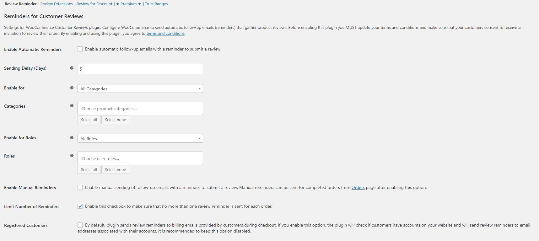 email solicitando valoraciones de clientes