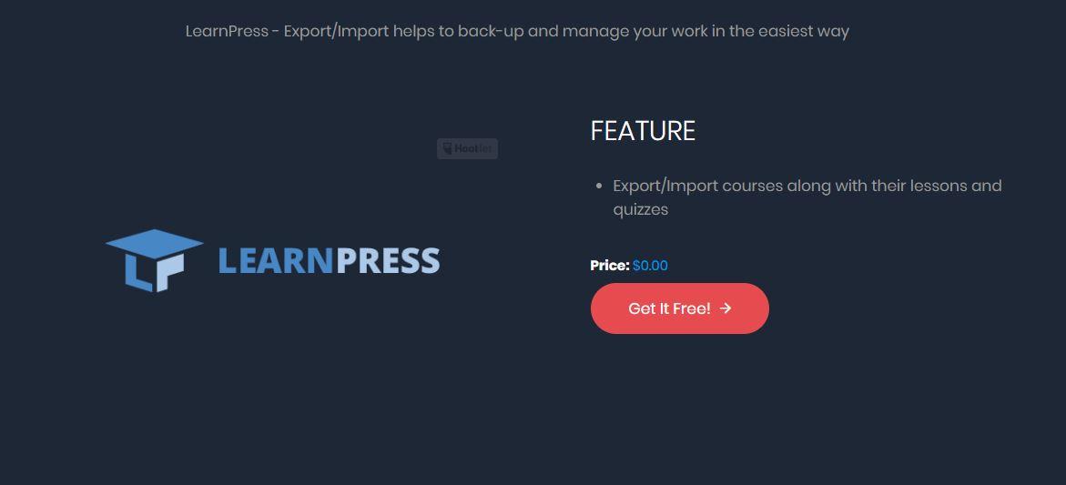 exportar importar cursos de learnpress