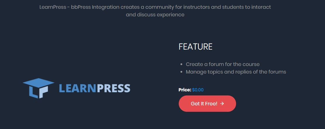 integracion bbpress learnpress wordpress