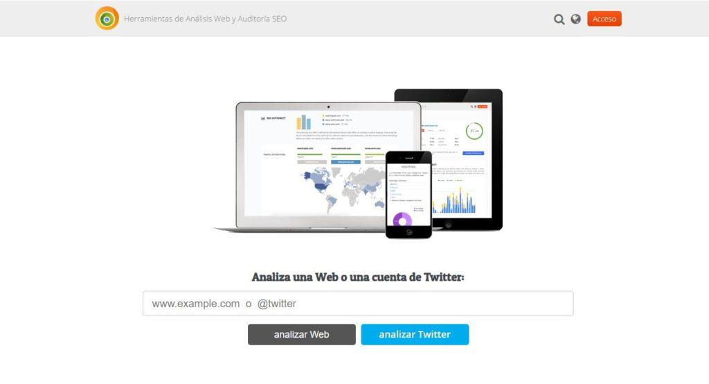 metric spot para analizar mi pagina web