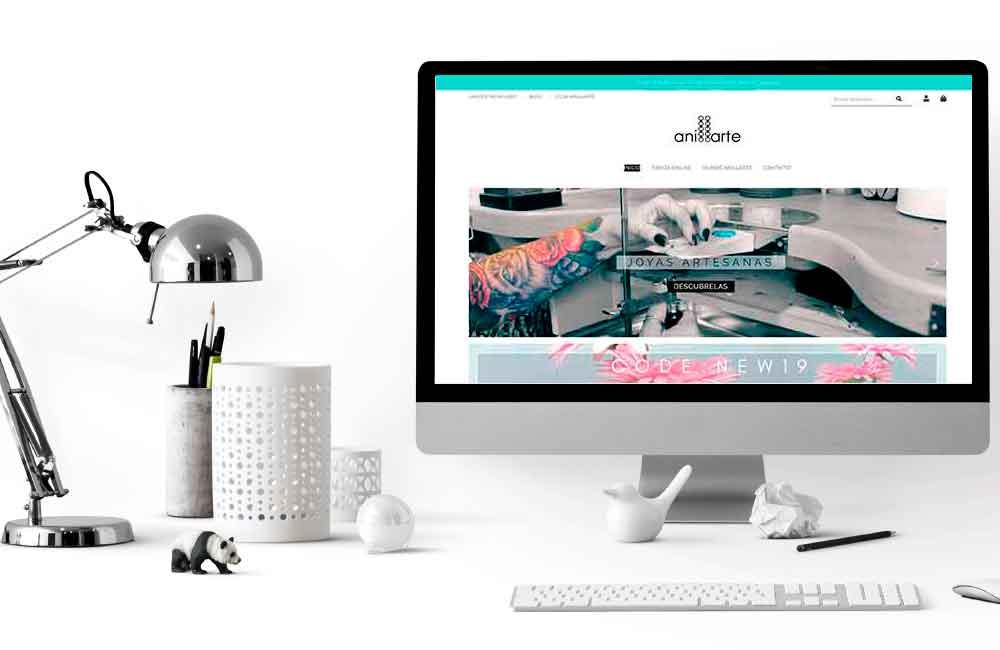 Rediseño Tienda Online Anillarte