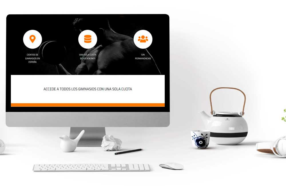Diseño Web InmyGym